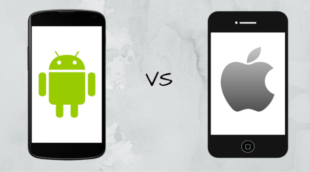 Android vs. iOS main picture